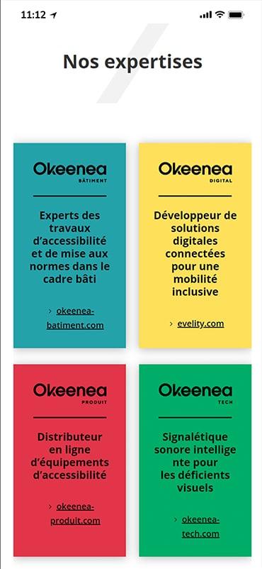 Okeenea - Mobile Design 1