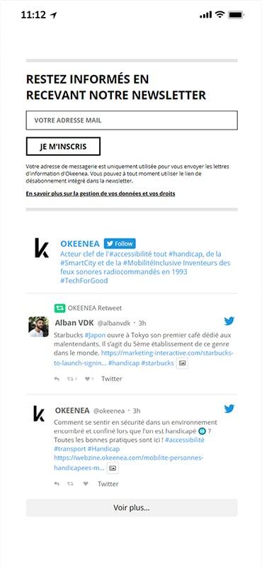 Okeenea - Mobile Design 2