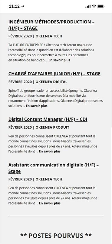 Okeenea - Mobile Design 6